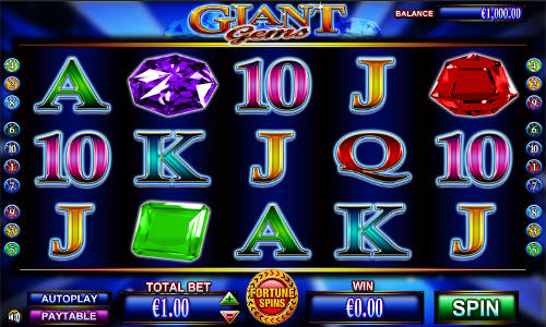 Giant Gems free slot