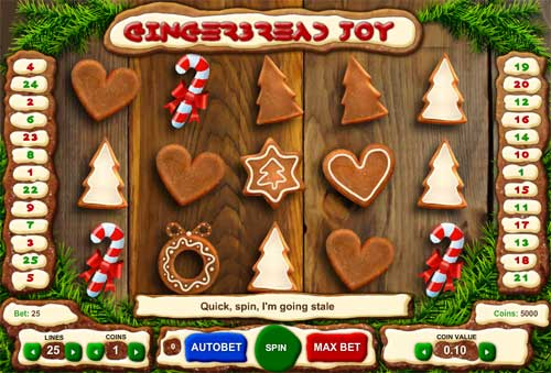 Gingerbread Joy slot