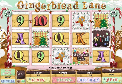 Gingerbread Lane videoslot