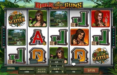 Girls With Guns free slot