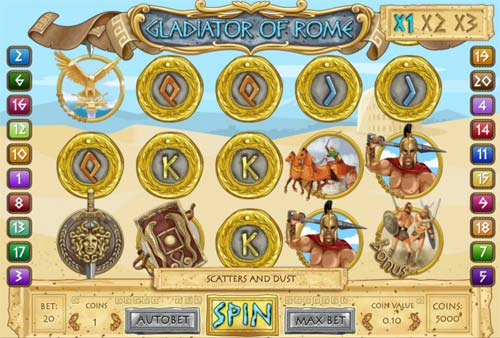 Gladiator of Rome free slot