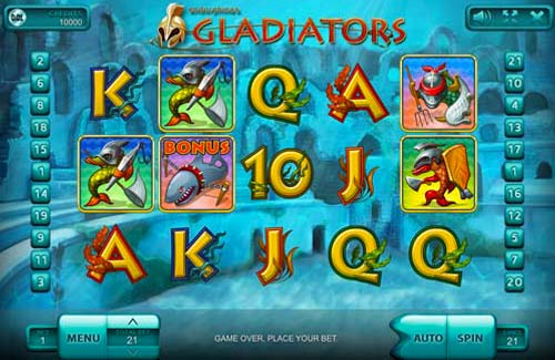 Gladiators videoslot