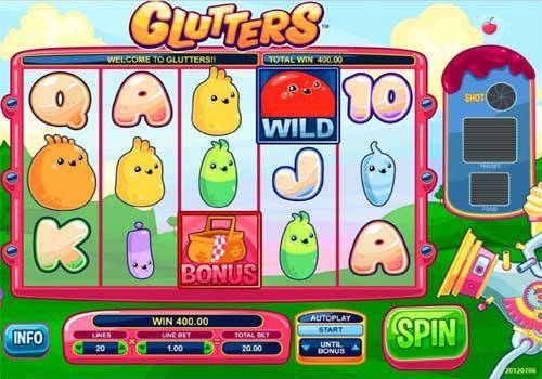 Glutters free slot