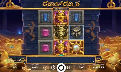 Gods of Gold INFINIREELS videoslot