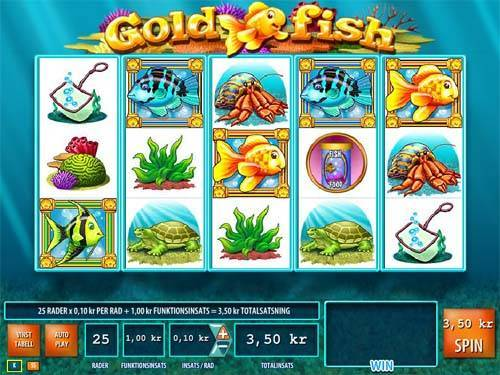 Gold Fish videoslot