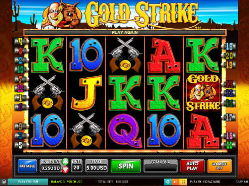 Gold Strike videoslot