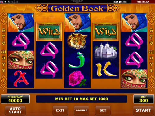 Golden Book free slot