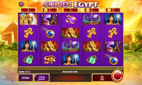 Golden Egypt videoslot
