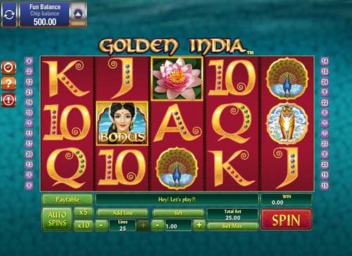 Golden India slot