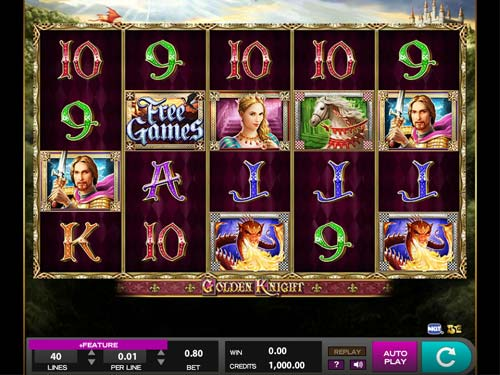 Golden Knight free slot