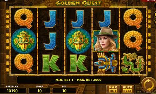 Golden Quest videoslot
