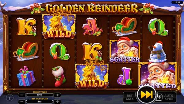 Golden Reindeer videoslot