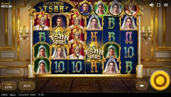 Golden Tsar videoslot