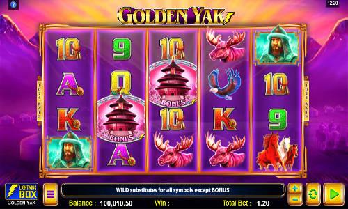 Golden Yak videoslot