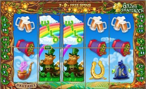 Golden Shamrock free slot