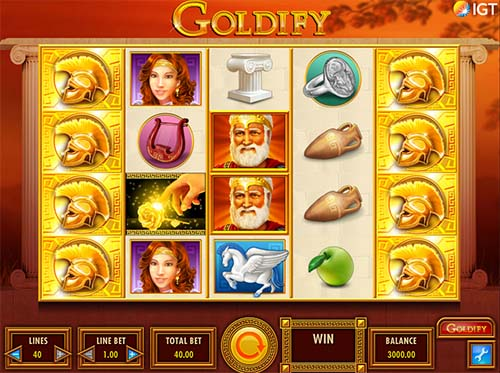 Goldify free slot