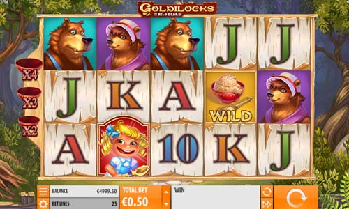 Goldilocks free slot