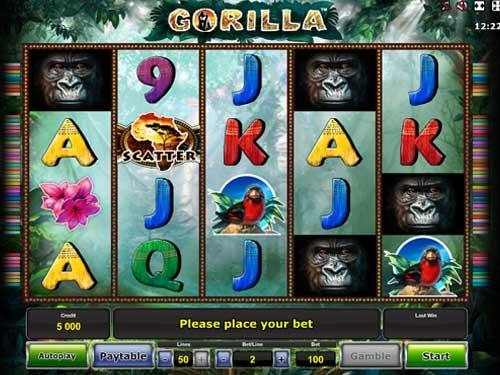 Gorilla free slot