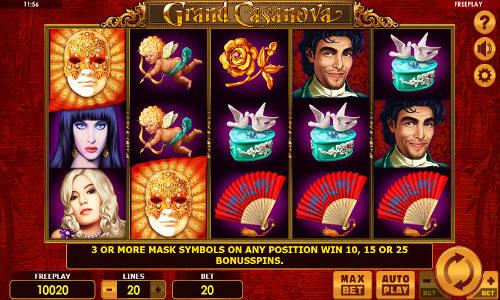 Grand Casanova slot