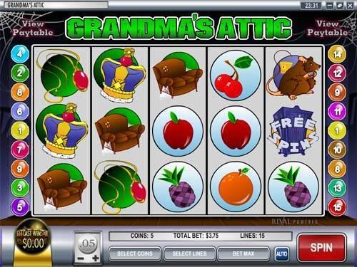 Grandmas Attic videoslot
