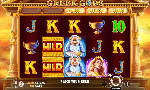 Greek Gods videoslot