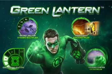 Green Lantern video slot