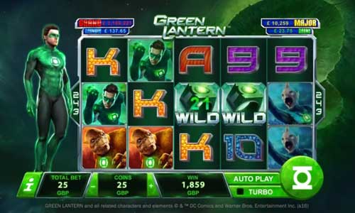 Green Lantern videoslot