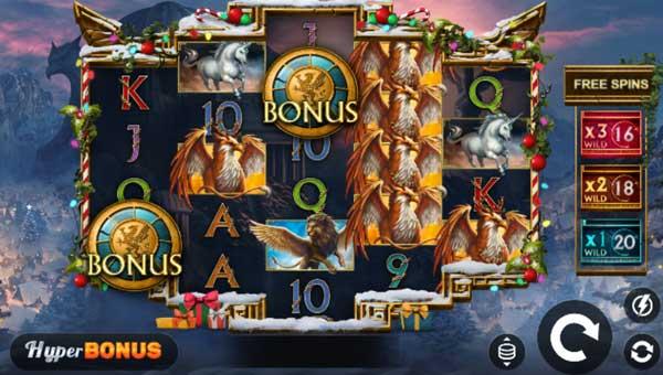 Griffins Quest Xmas slot