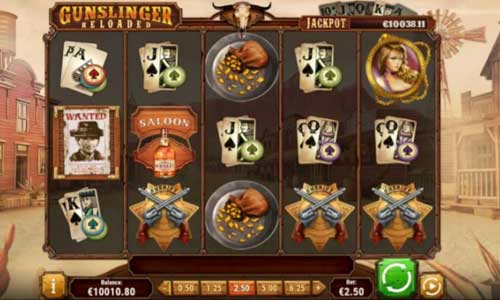 Gunslinger Reloaded slot