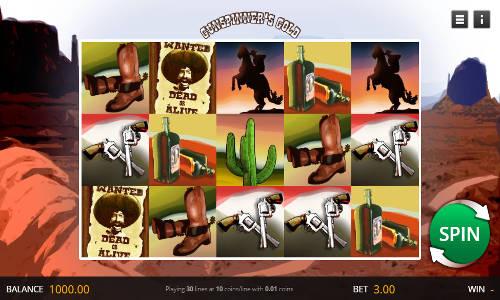 Gunspinners Gold videoslot