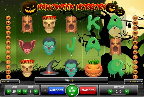 Halloween Horrors free slot