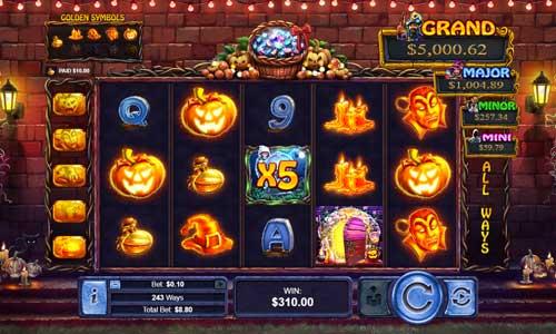 Halloween Treasures slot