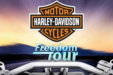Harley Davidson Freedom Tour video slot