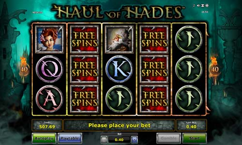 Haul of Hades free slot