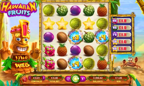 Hawaiian Fruits slot