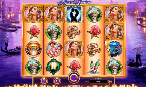 Hearts of Venice free slot