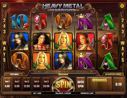 Heavy Metal Warriors slot