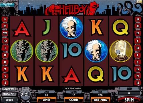 Hellboy videoslot