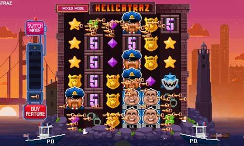 Hellcatraz videoslot