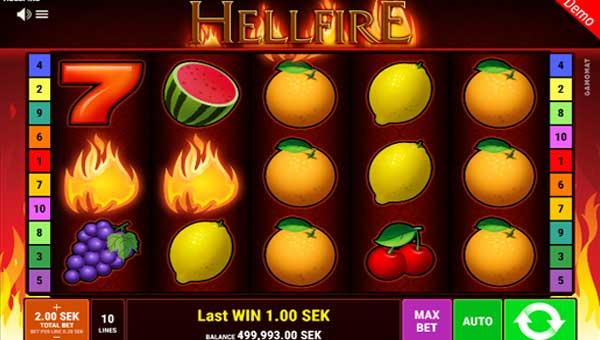 Hellfire videoslot