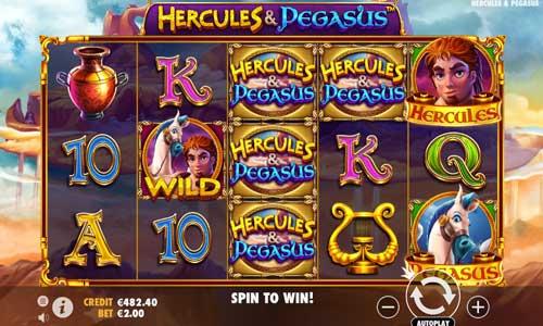 Hercules and Pegasus videoslot