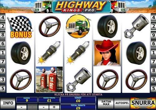 Highway Kings Pro videoslot