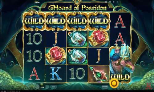 Hoard of Poseidon videoslot