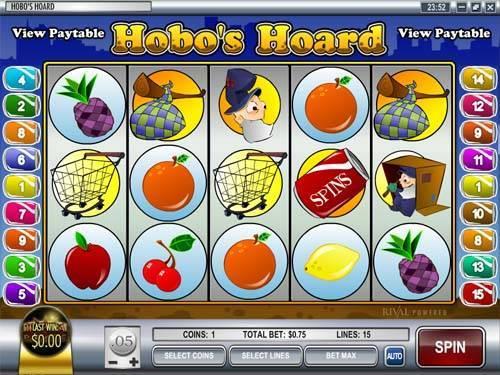 Hobos Hoard videoslot