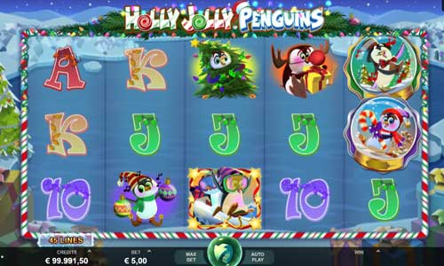 Holly Jolly Penguins videoslot