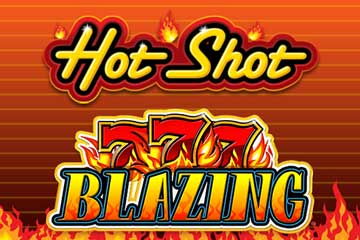 Hot Shot Progressive Blazing 7s video slot