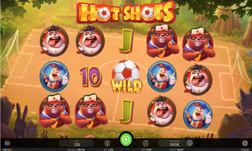 Hot Shots videoslot