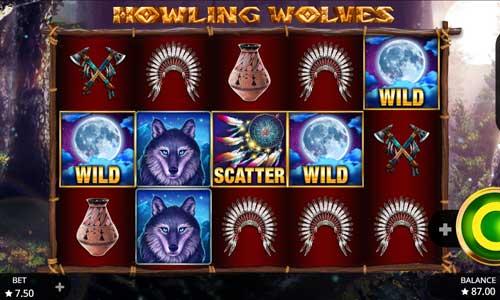 Howling Wolves videoslot