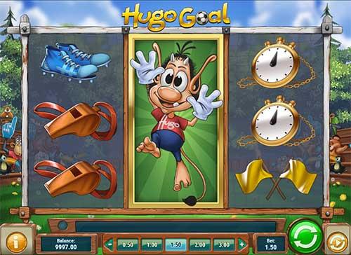 Hugo Goal videoslot