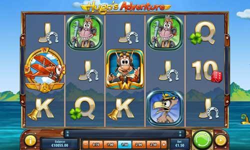 Hugos Adventure videoslot